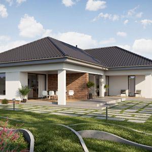Ważnym aspektem kupna projektu gotowego jest możliwość sprawdzenia, jak będzie wyglądał wybrany przez nas dom jeszcze na etapie podejmowania decyzji. Projekt: Dom TK 176. Fot. Architeka
