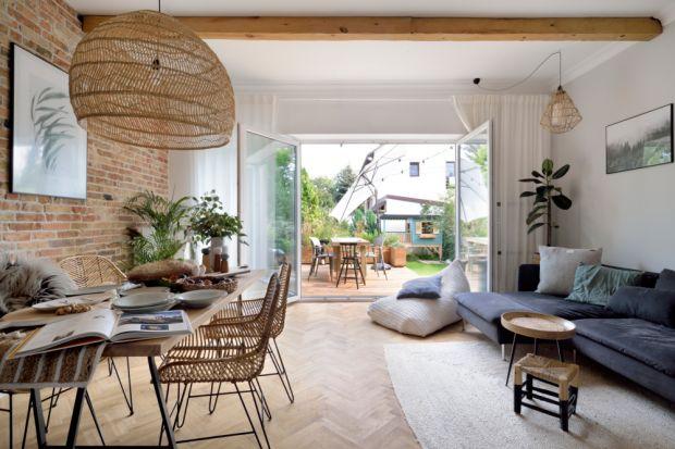 Dom inspirowany naturą - galeria pięknych wnętrz
