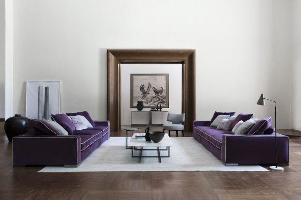 Meble do salonu - nowa, elegancka sofa