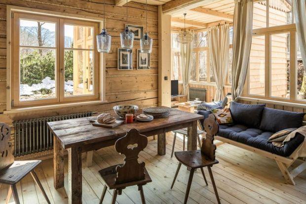 Klimatyczny dom z bala - zobacz wnętrza w góralskim stylu