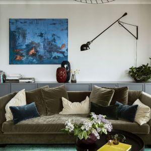 Nowoczesny salon: piękne projekty z polskich domów. Projekt: Katarzyna Arsenowicz. Fot. Yassen Hristov (Hompics)