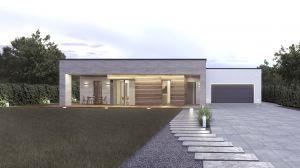 Nazwa Corner House odnosi się do najbardziej charakterystycznej cechy tego budynku, jaką są duże, narożne okna. Podstawowym założeniem projektu było maksymalne otwarcie domu na zewnątrz oraz wprowadzenie takich rozwiązań konstrukcyjnych, które pozwolą wyeliminować elementy ograniczające widok. Projekt i wizualizacje: 3DPROJEKT architektura