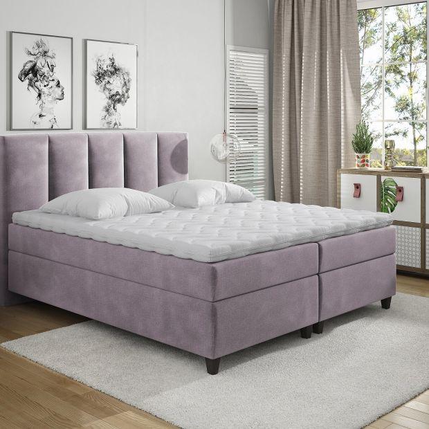 Łóżko kontynentalne w domowej sypialni - 5 wskazówek aranżacyjnych