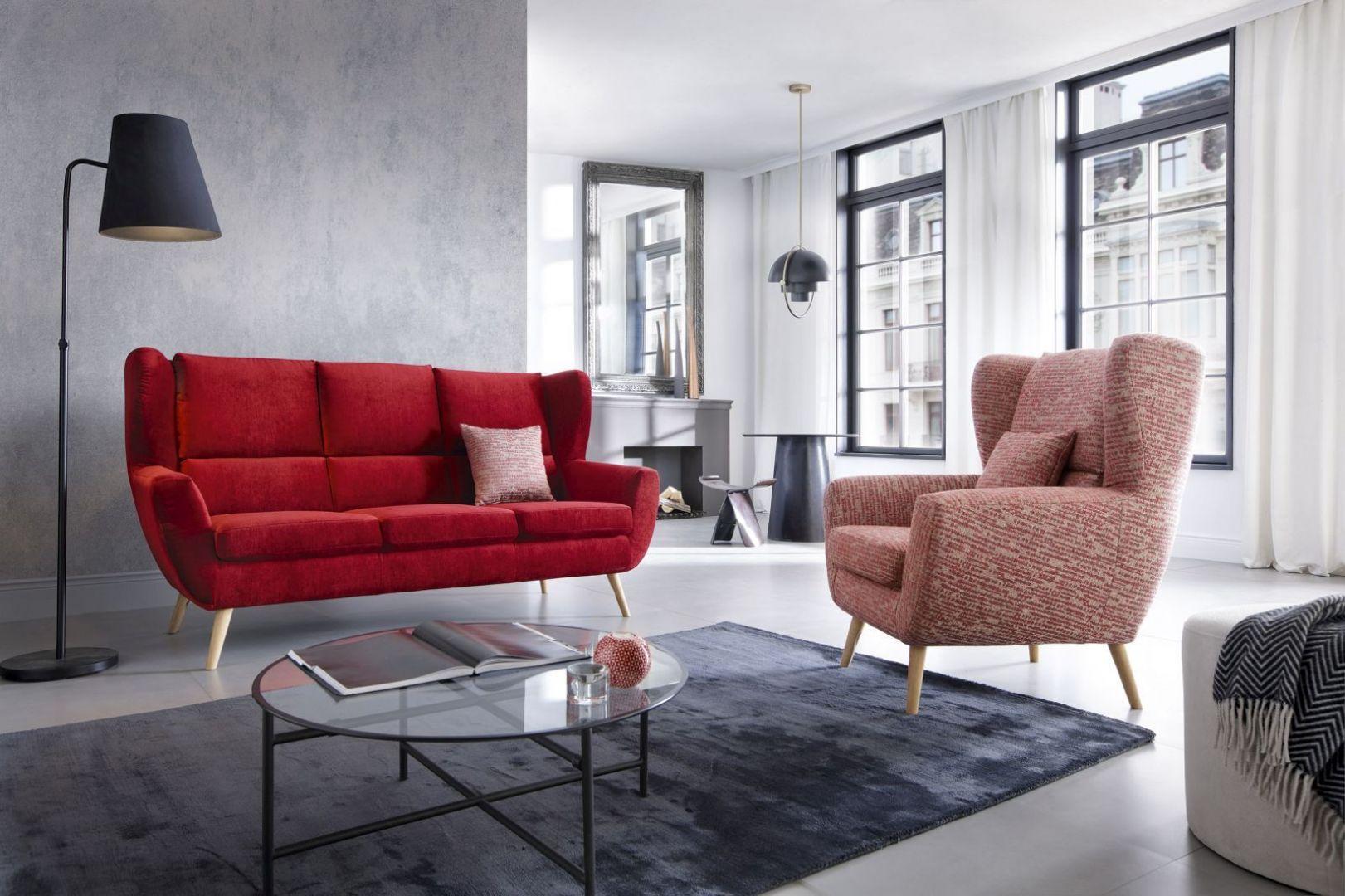 Sofa i fotel Forli. Fot. Gala Collezione