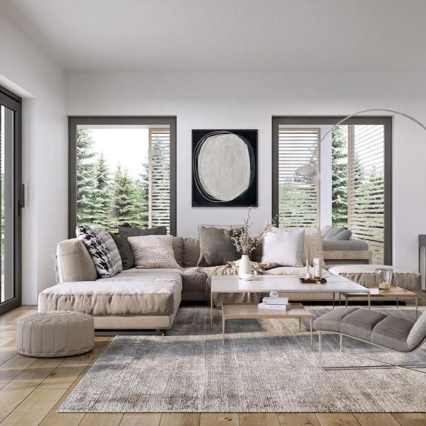 Okna z dużymi przeszkleniami - do minimalistycznych wnętrz