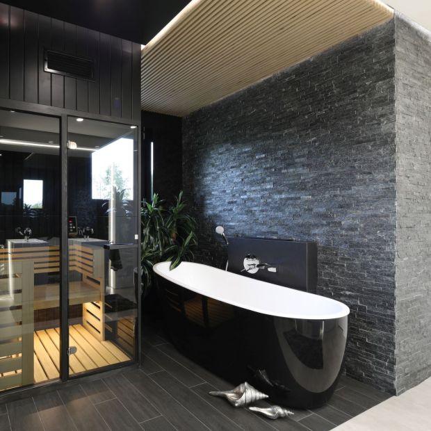 Domowe spa - wnętrze podporządkowane relaksowi
