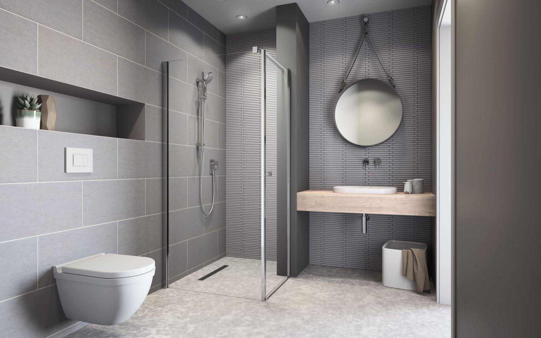 Kabina prysznicowa idealna do małej łazienki z programu