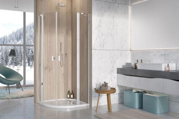 Mała łazienka - wygodna strefa prysznica