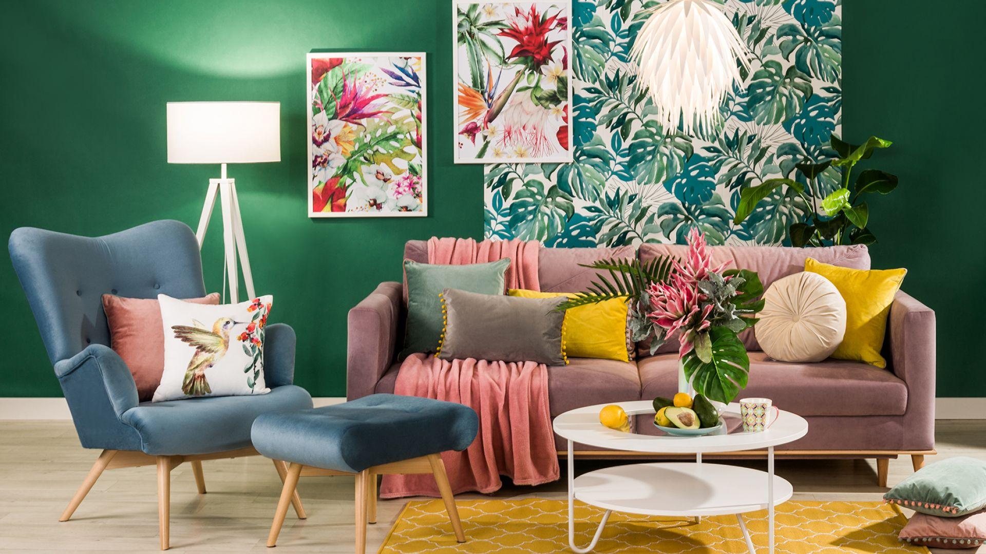 Zwiewnie i kolorowo: wnętrza w stylu boho. Fot. Salony Agata