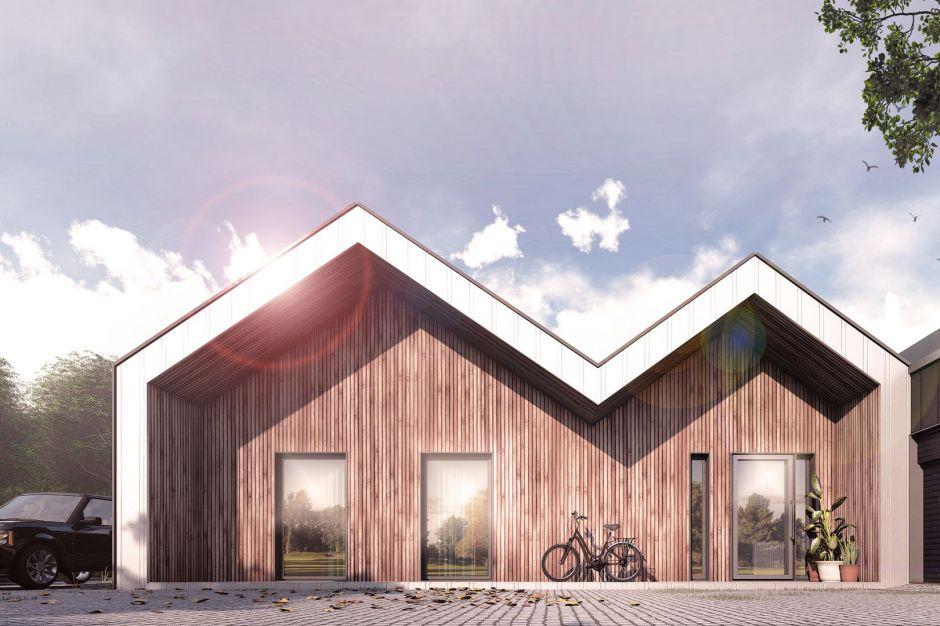 Nowoczesny, podmiejski dom - zobacz ciekawy projekt
