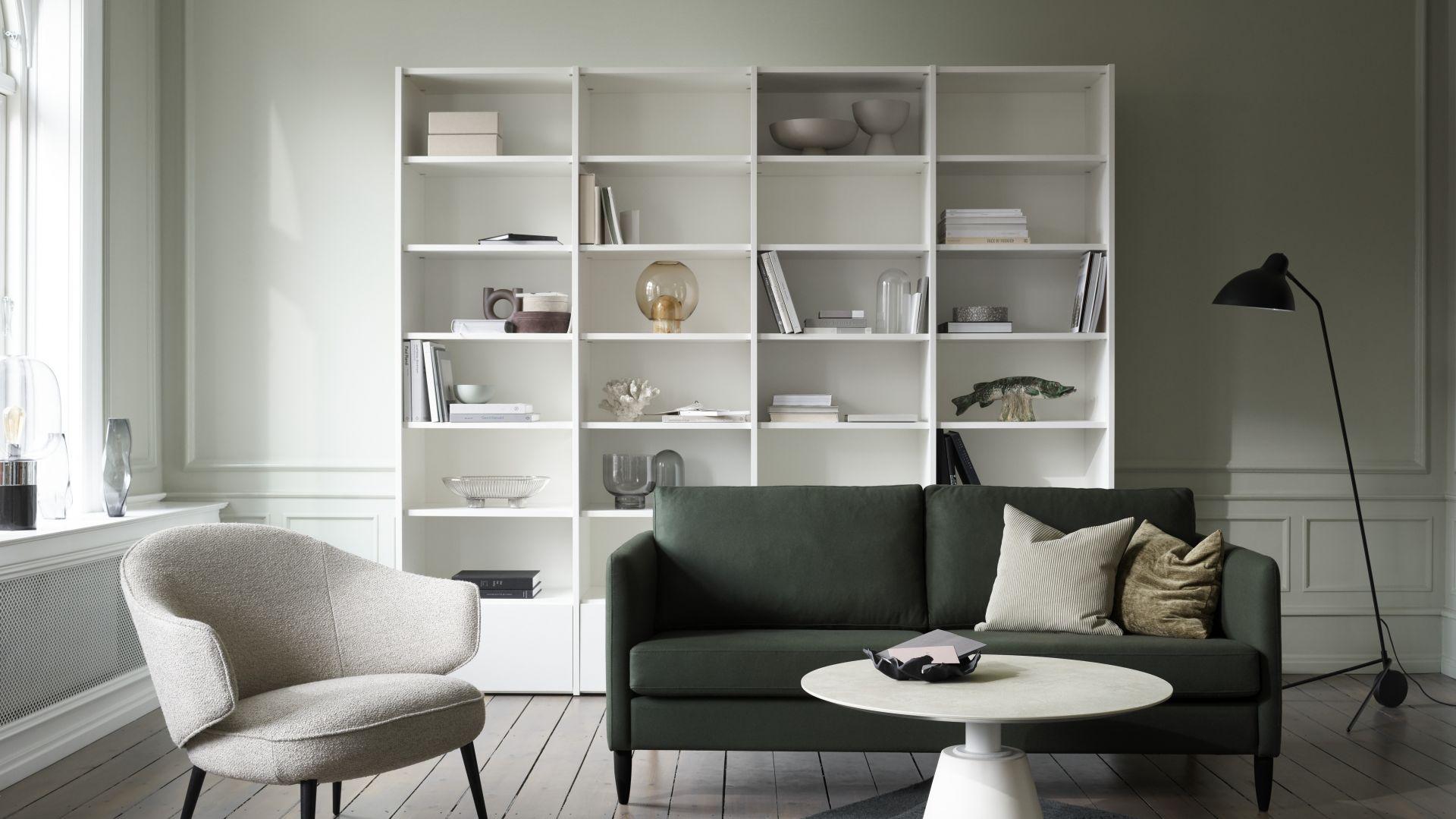 Sofa Indivi (proj. Anders Nørgaard) jest dostępna od 1999 roku. Fot. BoConcept