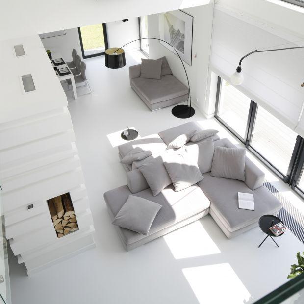 Jasny salon - 12 pięknych wnętrz