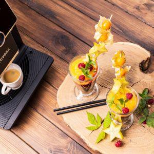 Kawy mrożone idealne na lato: chia z kawą. Fot. Nivona