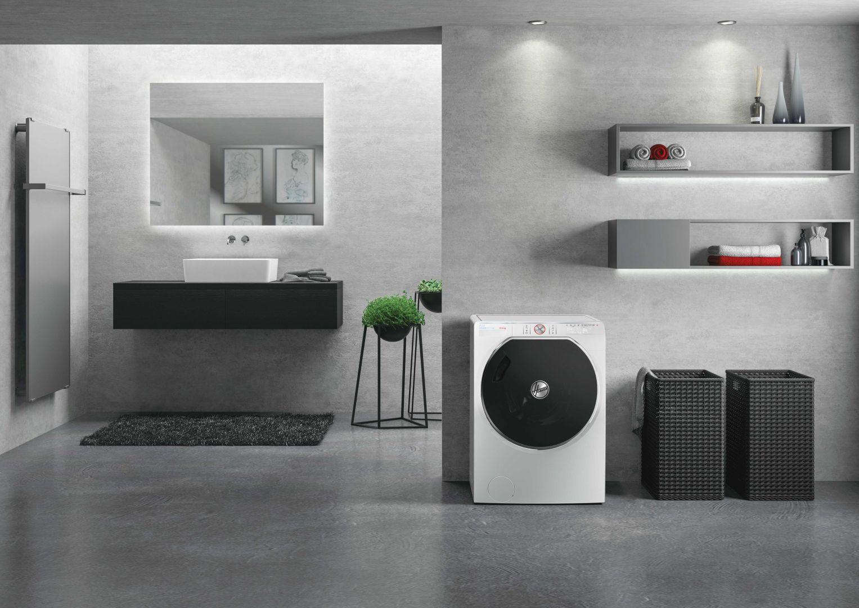 Ekologiczne pralki  ze sztuczną inteligencją serii Hoover AXI. Fot. Hoover