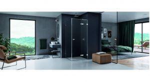 Nową serię minimalistycznych kabin prysznicowych zaprojektował Łukasz Paszkowski.