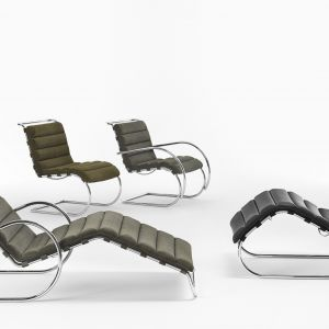 MR Collection Knoll, projekt: Mies van der Rohe.  Fot. Knoll /Aqina