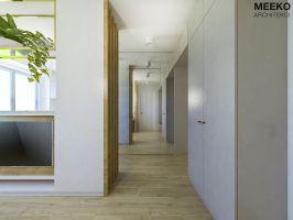 Widok na korytarz