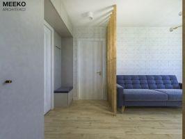 Widok na wejście do mieszkania