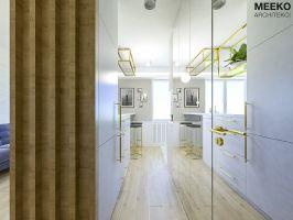Widok na korytarz do kuchni