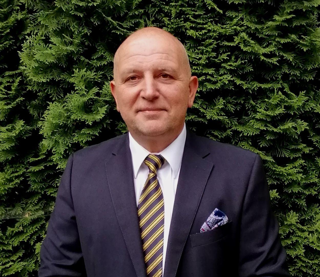 Wojciech Baryła, menadżer sprzedaży z firmy Nueva Terrain Polska