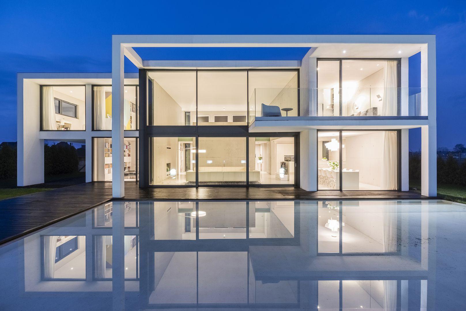 Projekt i wizualizacje: Beton House