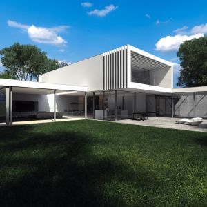Laguna House. Projekt i wizualizacje: Beton House