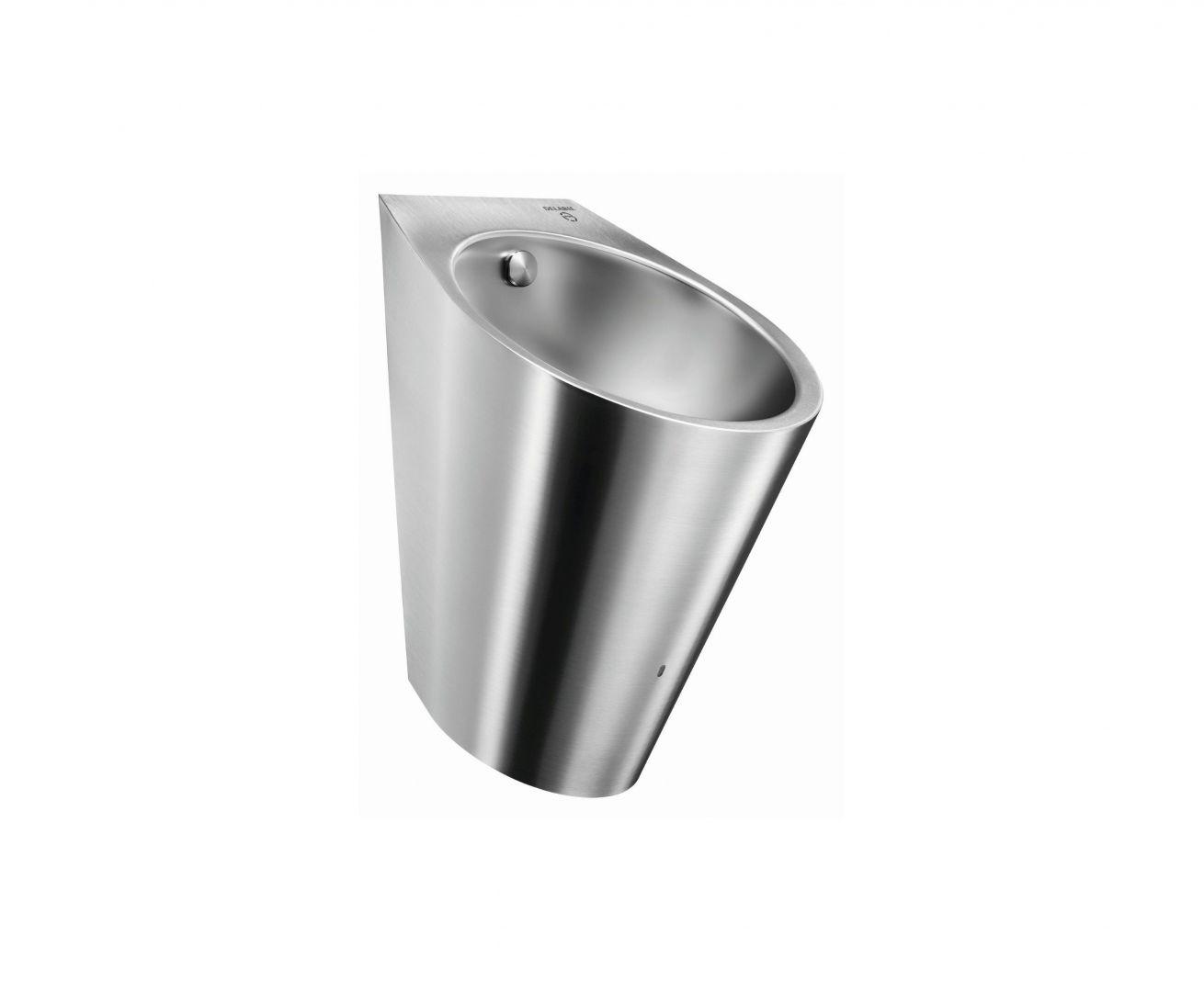 Hybrydowy pisuar Hybrimatic Fino/Delabie. Produkt zgłoszony do konkursu Dobry Design 2020.