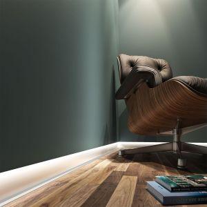 Listwa cokołowa z oświetleniem LED/Leon Witas. Produkt zgłoszony do konkursu Dobry Design 2020.