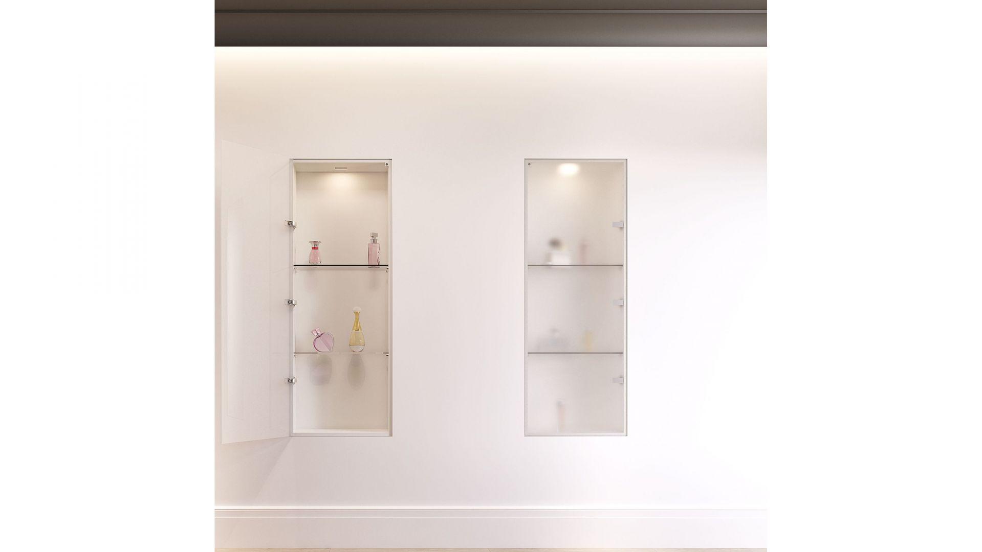Ukryta ościeżnica szafkowa Sara Mini Plus/Leon Witas. Produkt zgłoszony do konkursu Dobry Design 2020.