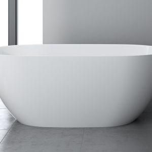 Wanna wolnostojąca 160x74 Sanitaone z konglomeratu. Produkt zgłoszony do konkursu Dobry Design 2020.