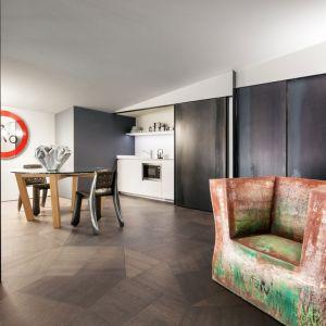 Dwupoziomowy Penthouse One-11. Projekt: Zaha Hadid Architects. Fot. Listone Giordano / Forestile