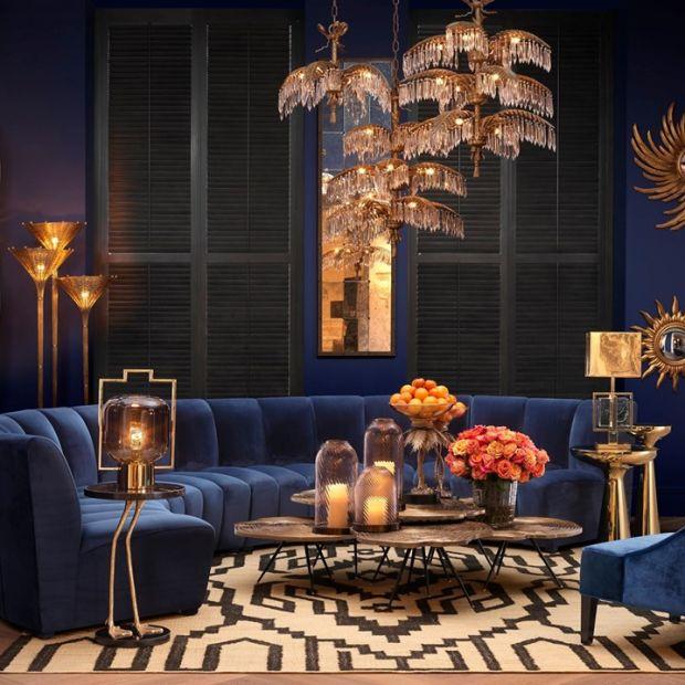 Modny salon - orientalne akcenty we współczesnym wnętrzu