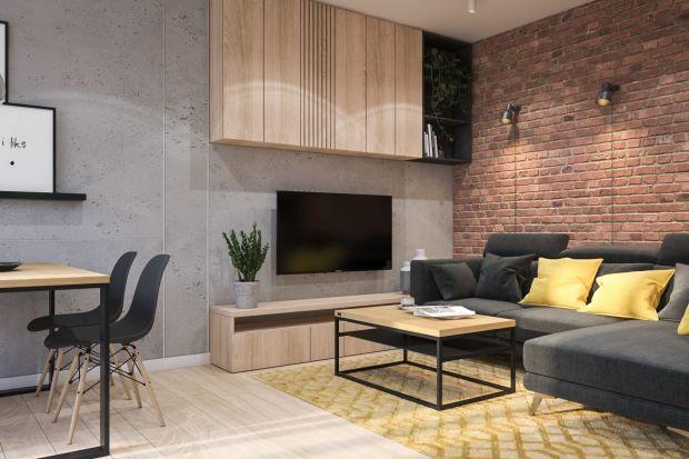 Nowoczesne wnętrze: zobacz piękne, przytulne mieszkanie