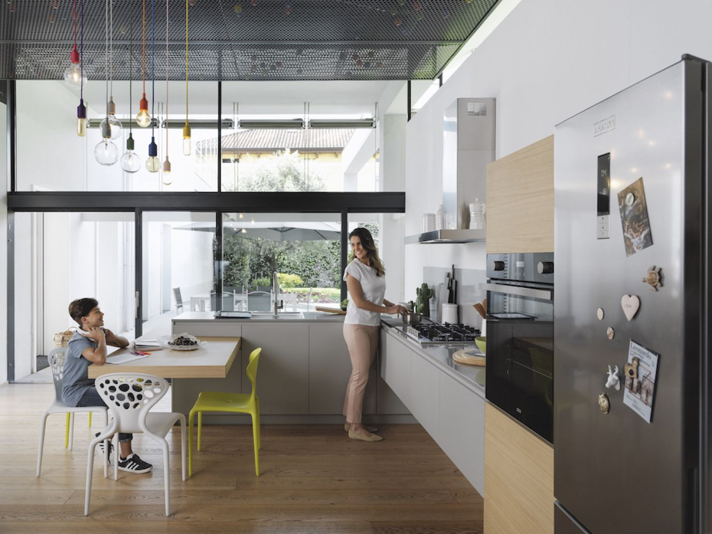 Kuchnia z widokiem na nowoczesność. Fot. Franke