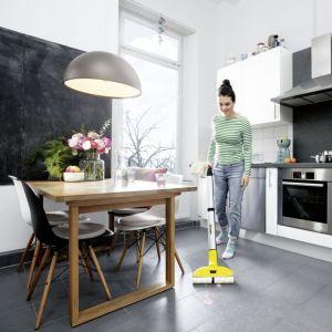 Mop elektryczny FC 3 bezprzewodowy/Kärcher. Produkt zgłoszony do konkursu Dobry Design 2020.