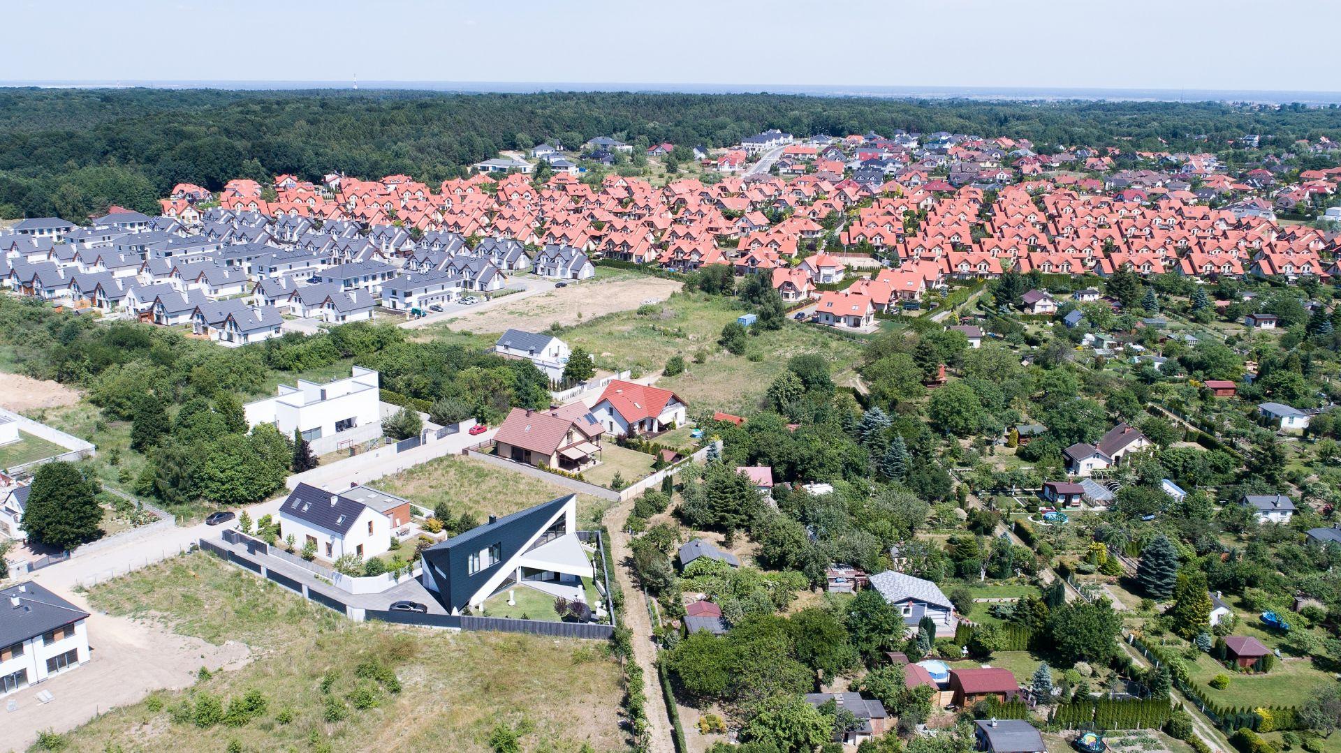 Trójkątny dom w Szczecinie. Proj. Marcin Tomaszewski, Reform Architekt