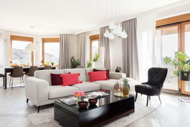Jasny salon - 15 pięknych wnętrz