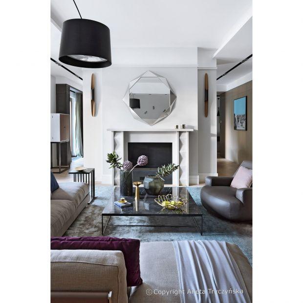 Dialog tradycji z nowoczesnością - zobacz luksusowy apartament na Muranowie