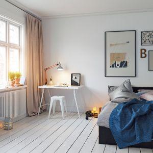 Ważne jest także oświetlenie przy łóżku, które uczeń wykorzystuje się np. podczas czytania lektury przed snem. Fot. Häfele