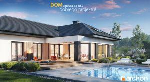 """Imponujący """"Dom w galantusach (G2)"""" przyciąga uwagę wyjątkowym designem oraz efektownym i funkcjonalnym układem wnętrz."""