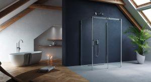 Strefa prysznica powinna być zaprojektowana w sposób, który cieszy nie tylko funkcjonalnością, ale i estetyką na najwyższym poziomie.