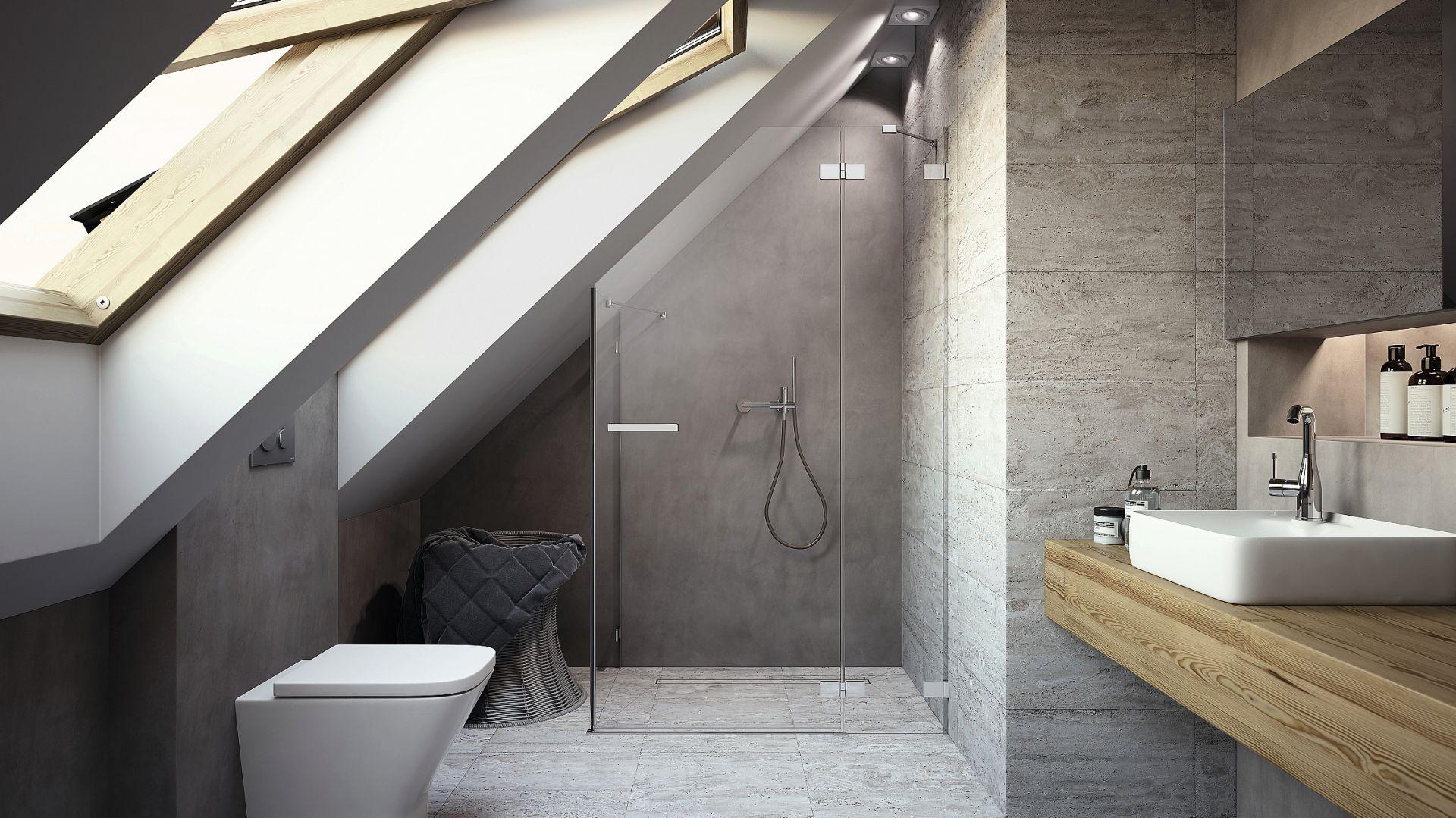 Nowoczesna łazienka Pomysły Na Strefę Prysznica
