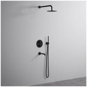 LUNGO - zestaw podtynkowy ze względu na uniwersalność i niesamowite walory estetyczne jest doskonałym wyborem dla właścicieli każdej łazienek. Fot. Rea