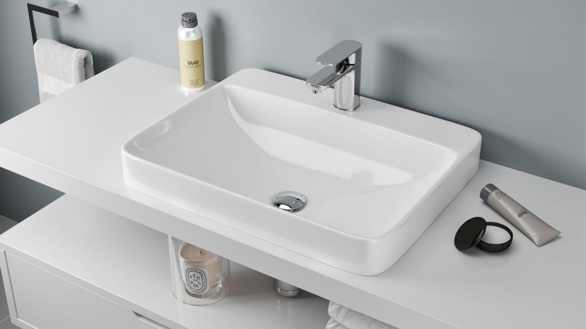 Nowoczesna łazienka Zobacz Modne Umywalki Nablatowe