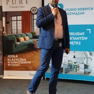 Paweł Fortunka z firmy Marmorin. Fot. SDR Katowice