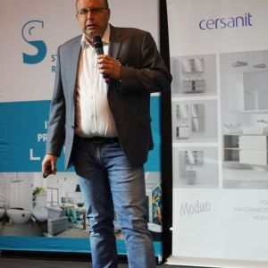 Jakub Tomaszek z firmy Jaquar. Fot. SDR Katowice