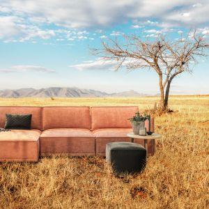 Modułowa sofa Storm ma wygodne, miękkie siedzisko i dobrze wyprofilowane oparcia. Fot. MTI Furninova