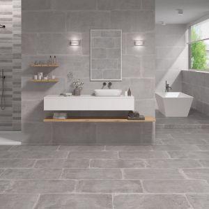 Nowoczesna łazienka. 30 pięknych kolekcji płytek ceramicznych. Fot. Dualgres