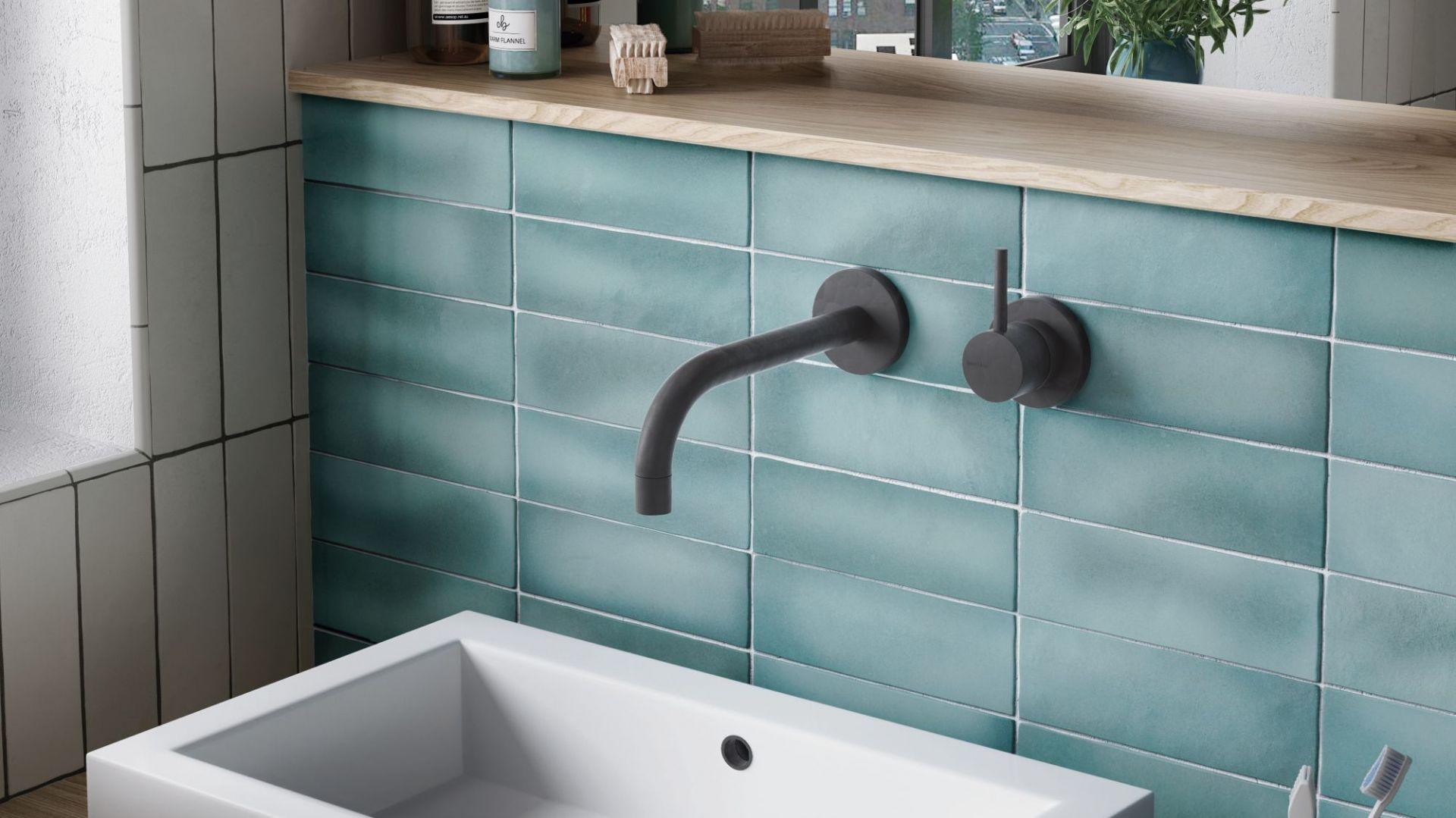 Nowoczesna łazienka. 30 pięknych kolekcji płytek ceramicznych. Producent Equipe, kolekcja Magma. Fot Equipe