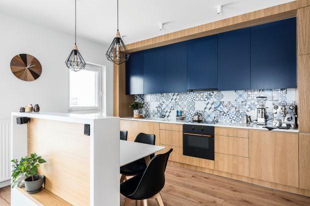 Otwarta kuchnia: piękny projekt wnętrza